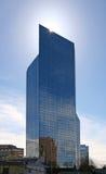 Wolkenkratzer mit Halo Stockfotos