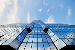 Wolkenkratzer-moderne Architektur Lizenzfreie Stockfotografie