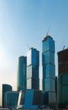 Wolkenkratzer in Moskau Lizenzfreie Stockfotos