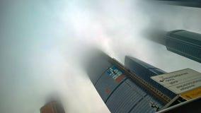 Wolkenkratzer Moskaus MIBC Lizenzfreie Stockfotografie