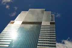 Wolkenkratzer in New York Lizenzfreies Stockfoto