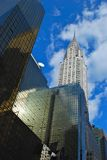 Wolkenkratzer in New York Lizenzfreie Stockfotos