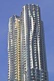 Wolkenkratzer in New York Stockbild