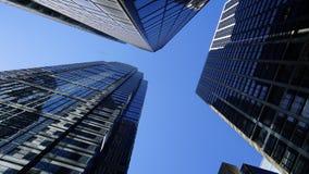 Wolkenkratzer in NY Lizenzfreie Stockbilder