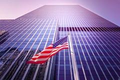 Wolkenkratzer in NYC Lizenzfreies Stockbild