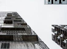 Wolkenkratzer in Oslo, Norwegen stockbilder