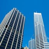 Wolkenkratzer in Perth, West-Australien Lizenzfreie Stockbilder