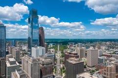 Wolkenkratzer, Philadelphia Stockbild