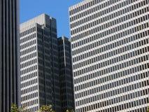 Wolkenkratzer in San Francisco Stockbild