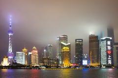 Wolkenkratzer Shanghai-Lujiazui CBD lizenzfreie stockfotografie