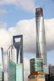 Wolkenkratzer Shanghai-Lujiazui CBD Stockfoto