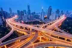 Wolkenkratzer Shanghai-Lujiazui CBD stockbilder
