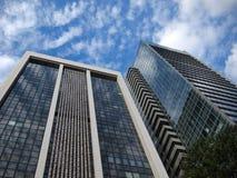 Wolkenkratzer in Tokyo Stockfoto