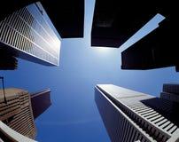 Wolkenkratzer in Totonto lizenzfreie stockfotos