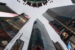 Wolkenkratzer und Reflexionen, New York Lizenzfreies Stockbild