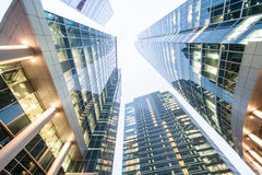 Wolkenkratzer vier Lizenzfreie Stockfotografie
