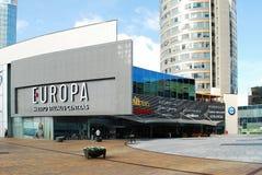 Wolkenkratzer in Vilnius-Stadt am 24. September 2014 Stockbild