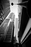Wolkenkratzer von Hong Kong Lizenzfreies Stockfoto