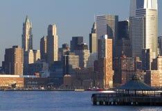 Wolkenkratzer von New York lizenzfreie stockfotos