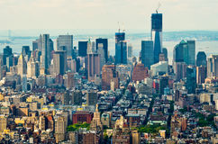 Wolkenkratzer von New York Stockfotos