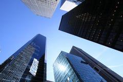 Wolkenkratzer von New York. Lizenzfreie Stockbilder