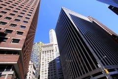 Wolkenkratzer von New York. Stockbilder