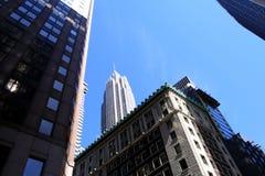 Wolkenkratzer von New York. Stockbild
