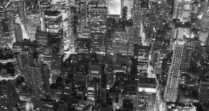 Wolkenkratzer von New York City stockbilder