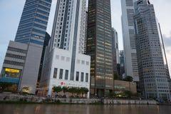 Wolkenkratzer von Singapur Stockbild