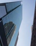 Wolkenkratzer Windows Stockfotografie