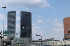 Wolkenkratzer zwei lizenzfreies stockbild