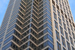 Wolkenkratzeraußenwand Lizenzfreie Stockbilder