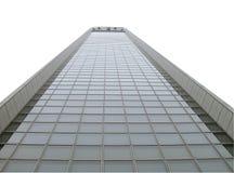 Wolkenkratzerausschnittspfad stockfotos
