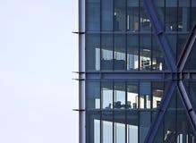 Wolkenkratzerbüroecke