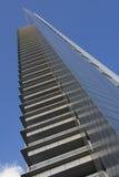 Wolkenkratzerbalkone Stockbild