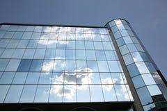 Wolkenkratzerdetail Stockbild