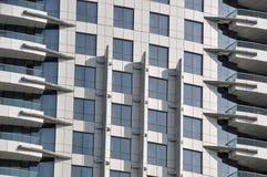 Wolkenkratzerdetail Stockfoto