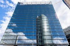 Wolkenkratzerdetails Stockfotografie
