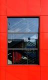 Wolkenkratzerfenster Stockfotografie