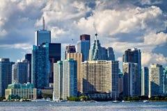 Wolkenkratzergebäude Lizenzfreies Stockfoto