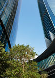 Wolkenkratzergebäude in Abu Dhabi, Vereinigte Arabische Emirate Lizenzfreie Stockbilder