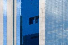Wolkenkratzerhintergrund Stockbilder