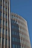Wolkenkratzernahaufnahme Stockfotos