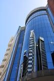 Wolkenkratzerreflexion Lizenzfreies Stockfoto