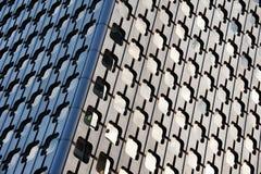Wolkenkratzerwand Stockfotos