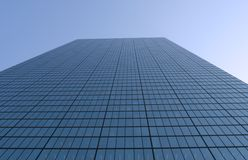 Wolkenkratzerweitwinkelansicht Lizenzfreie Stockfotografie