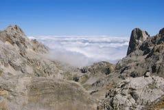 Wolkenmeer/Mrz de Nubes Lizenzfreies Stockfoto