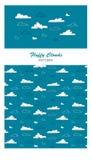 Wolkenmuster Stockfotografie