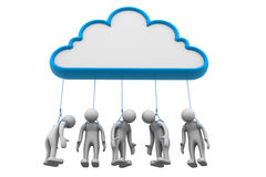 Wolkennetz Stockbilder