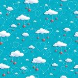 Wolkenpatroon Stock Afbeeldingen